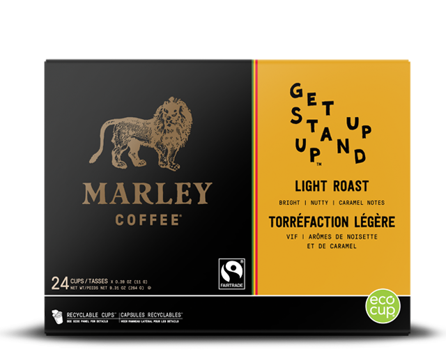Marley coffee - get up stand up