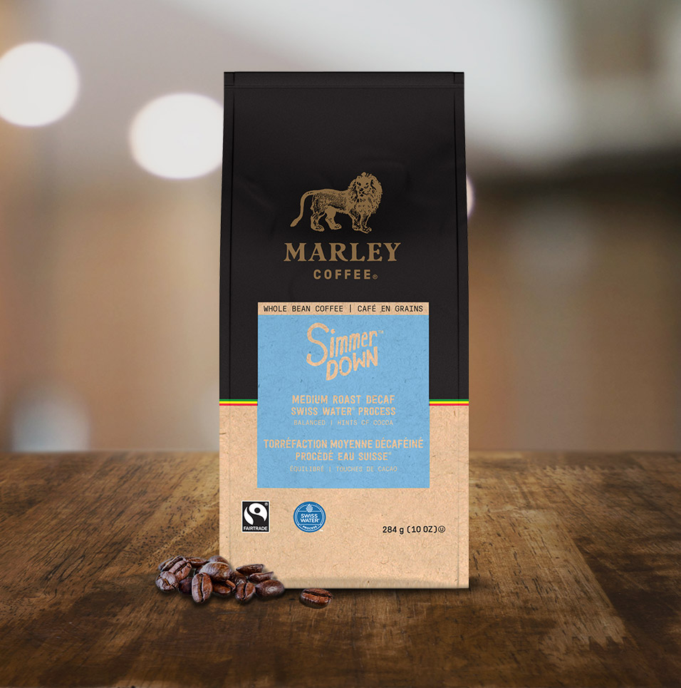 Marley Coffee: Simmer Down Coffee Blend Tabletop