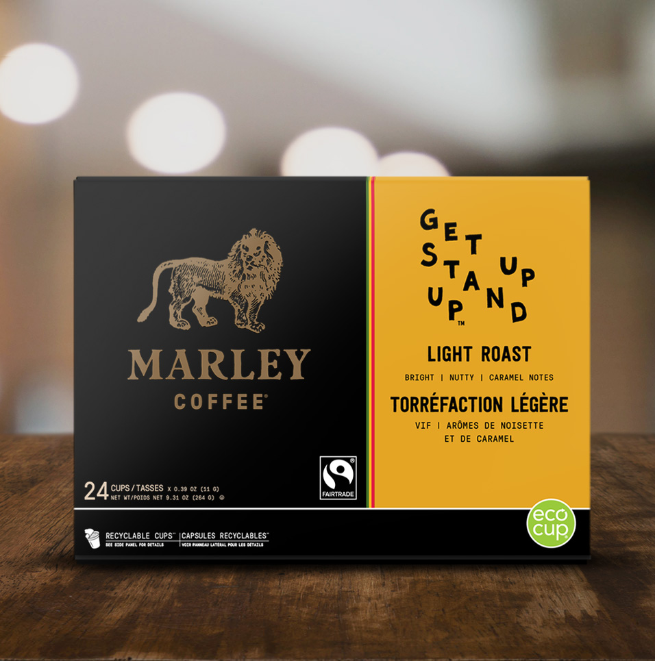 Marley Coffee: Get Up Stand Up
